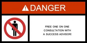 Success Advisor Warning