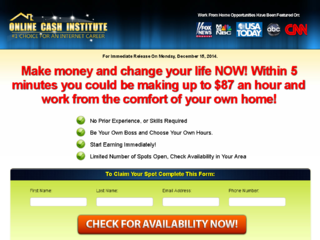 Online Cash Institute